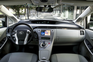 2012 Updated Toyota Prius Inside View