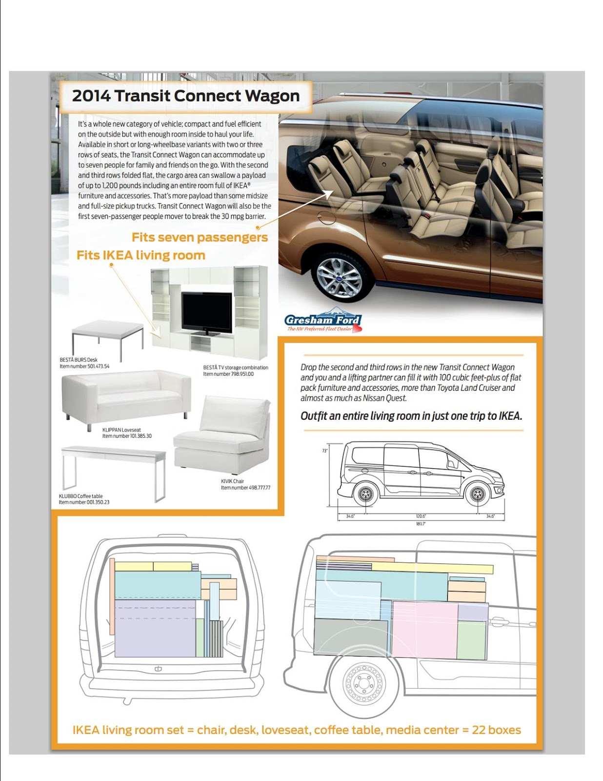 gresham ford - your oregon ford dealership: the transit connect is