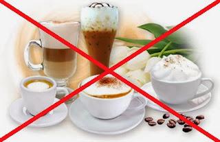 งดดื่ม ชา กาแฟ และเครื่องดื่มแอลกอฮอร์ในช่วงหน้าหนาว