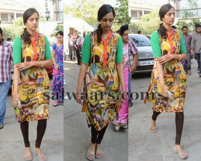 Lakshmi Pranathi Printed kameez