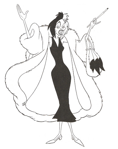 Disney Villains Coloring Pages
