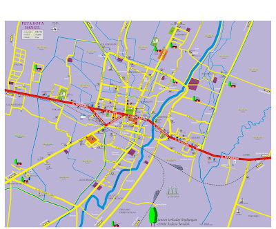 Peta Kota Bangil