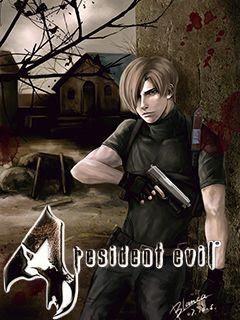 Resident Evil 4 3D Java Game 240x320
