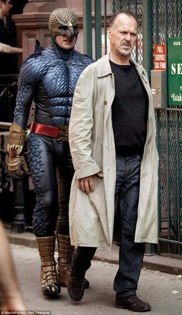 "Michael Keaton ""Birdman"""