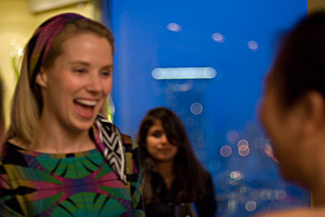 Smiling Photo Of Marissa Mayer