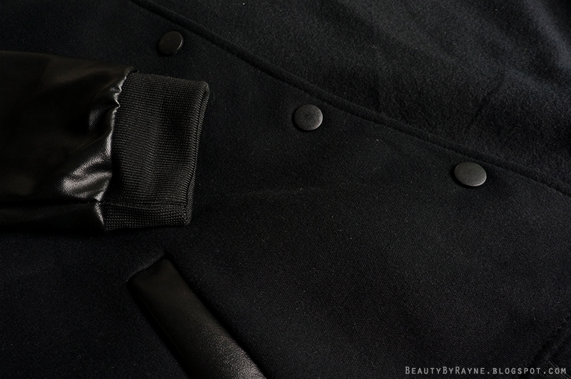 Romwe Black Bomber Jacket Review