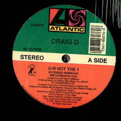 Craig G – U-R Not The 1 (VLS) (1991) (320 kbps)