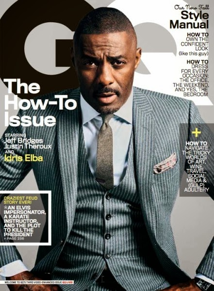 Idris Elba Covers GQ Magazine's Latest Edition
