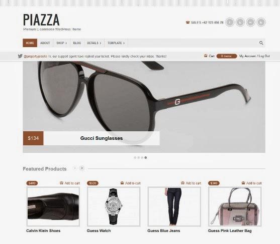 Piazza - Ecommerce Theme
