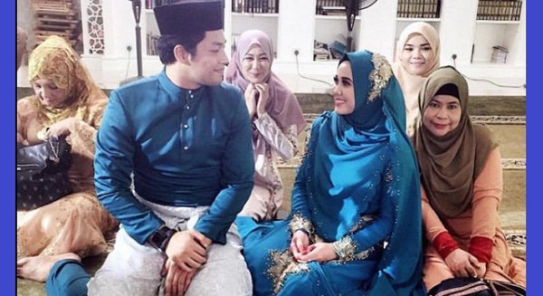 Gambar majlis 'akad nikah' Kamal Adli, Emma Maembong jadi viral