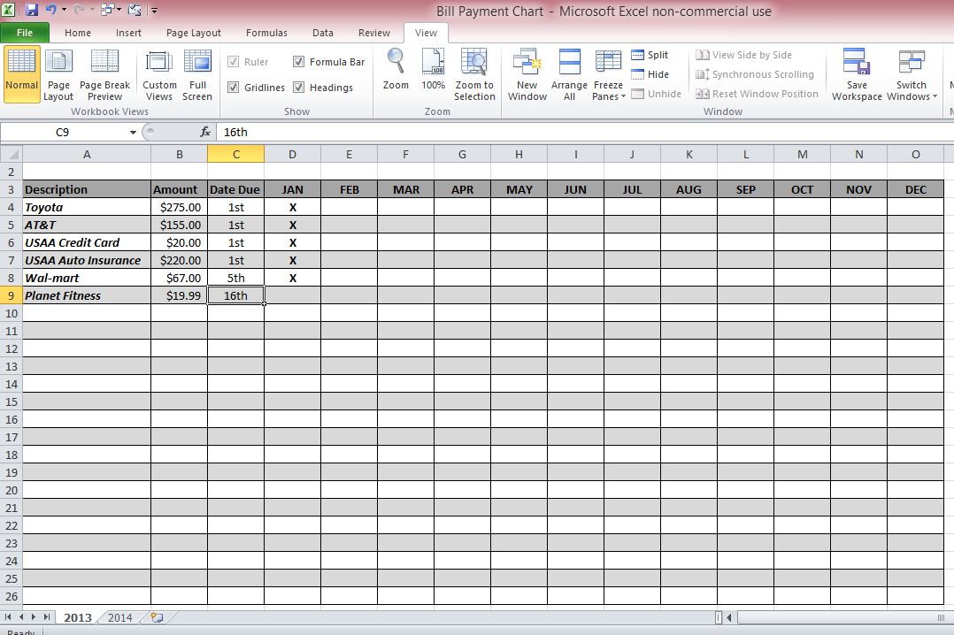 Microsoft Office Excel Spreadsheet | newhairstylesformen2014.com