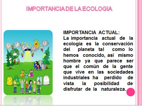 4 importancia biologia: