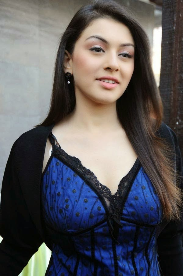 hansika motwani hot cleavage