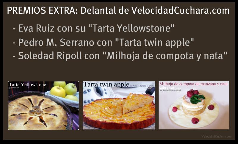 Premios Extra del RETO de las manzanas con Emile Henry - VelocidadCuchara.com