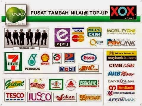TOP UP DI MANA MANA