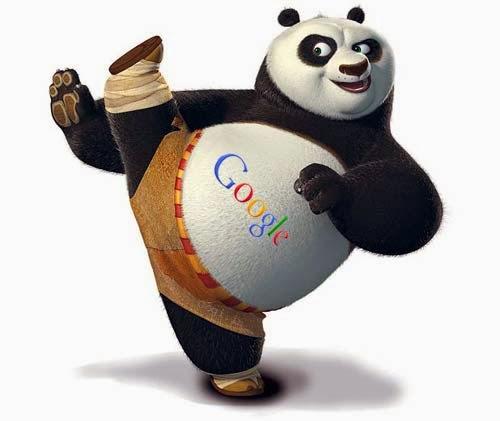 ilustrasi google panda, google, blog, seo