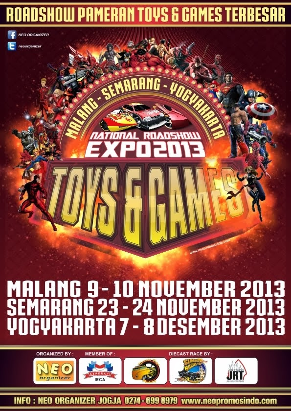 National Roadshow TOYS & GAMES EXPO 2013 : MALANG 9-10 November 2013
