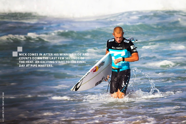2013 Billabong Pipe Masters Vans Triple Crown of Surfing (Photo: Claire Butler)