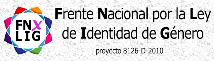 Ley Identidad de Gnero YA!