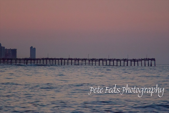 Pete feds photography for Virginia beach fishing pier