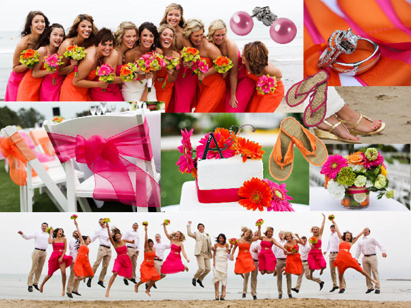 Chloe Bleu: Orange and Pink Inspirations