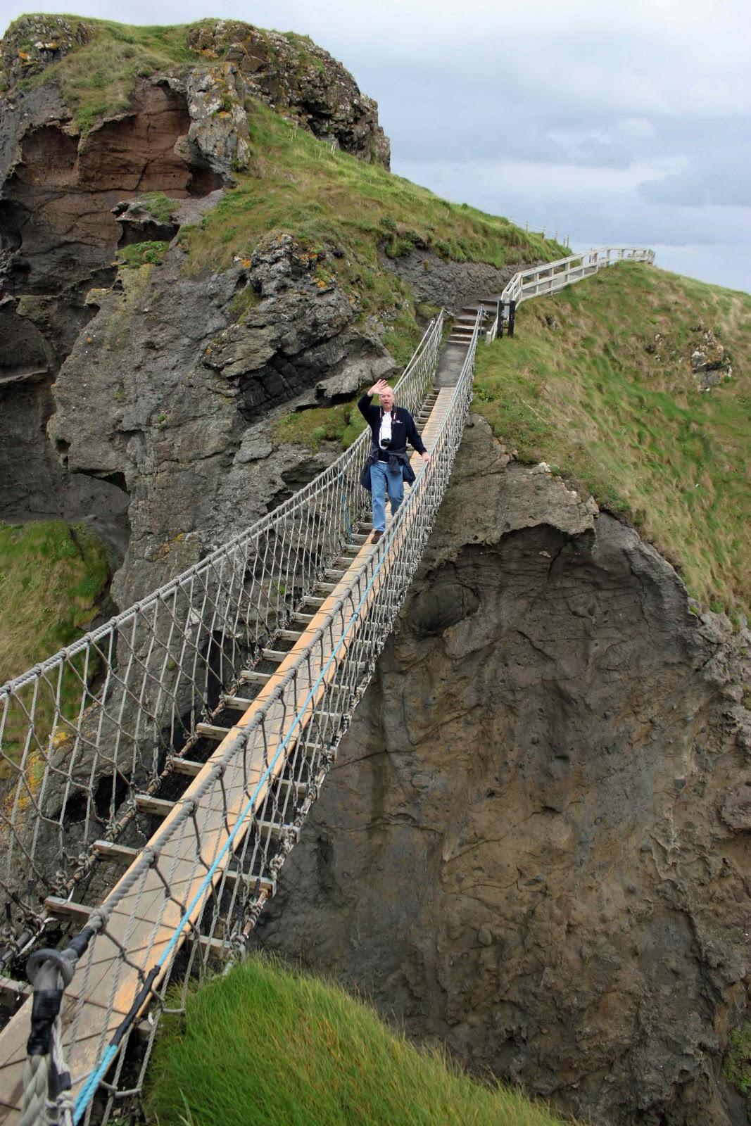 Mickelsen Family Adventures: Carrick-a-Rede Rope Bridge ...