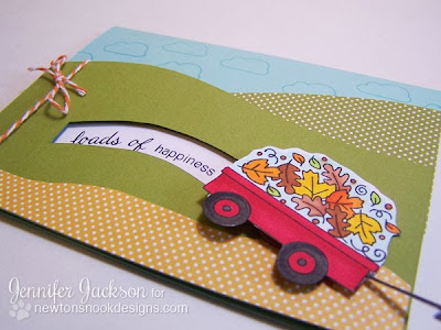 Penny Slider Card tutorial - Newton's Nook Designs - final card