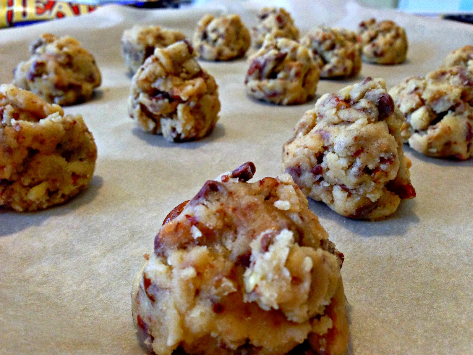 OMG Heath Bar Cookies - From Everyday To Gourmet