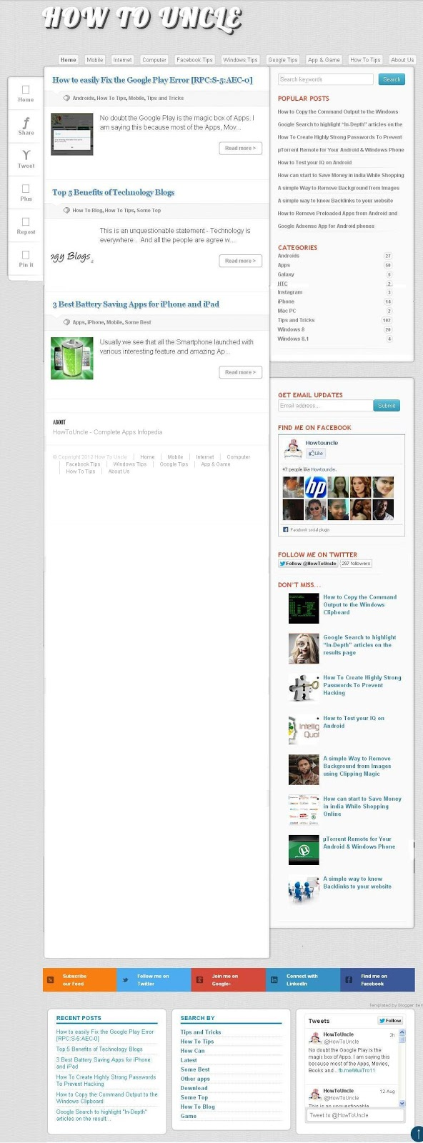 Why Only Few Posts Appear on Blog Homepage?