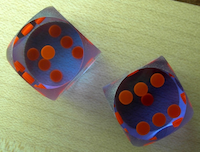 New Backgammon Dice