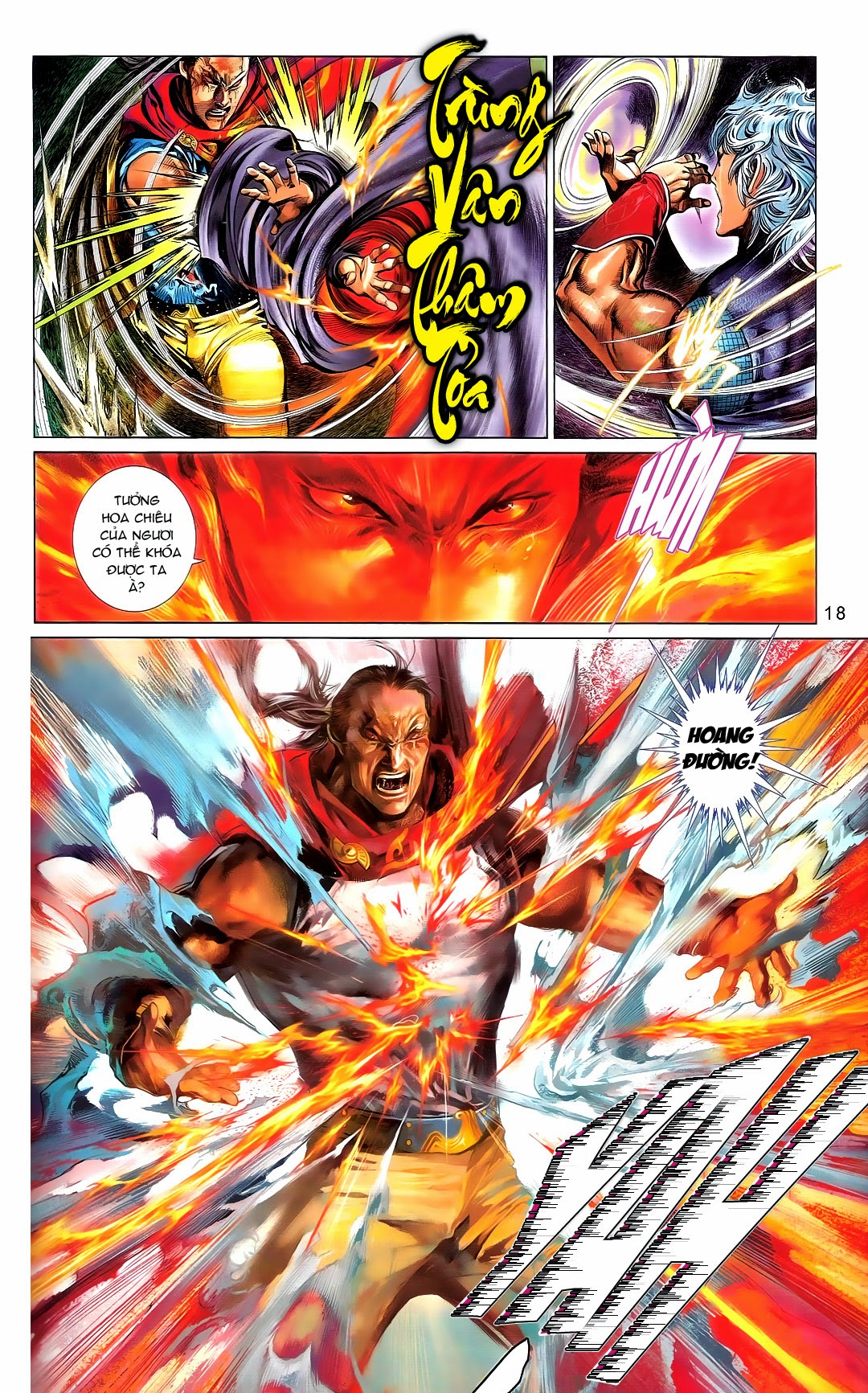 Phong Vân Chap 668 - Trang 14