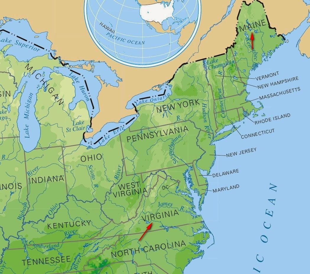Был ли такой город Норумбега в Северной Америке? 6