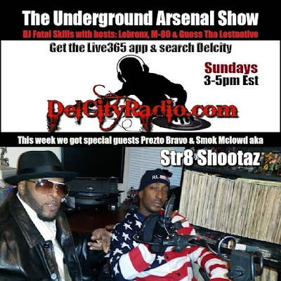 https://www.mixcloud.com/DelCityRadio/the-underground-arsenal-show-with-special-guests-str8-shootaz/