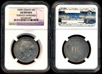 1890H 50 cents