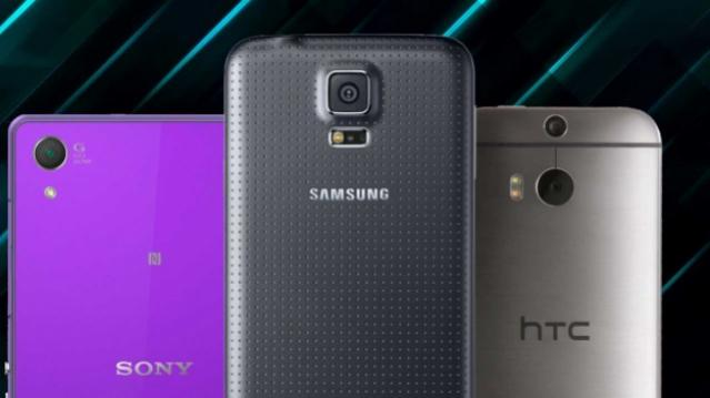 samsung galaxy s5 vs sony xperia z2 vs htc one m8