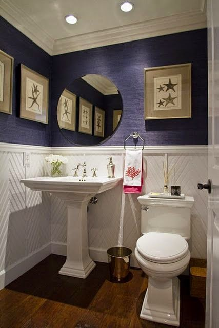 Decoracion Baños Visita:Muebles y Decoración de Interiores: Cómo decorar un baño de visita