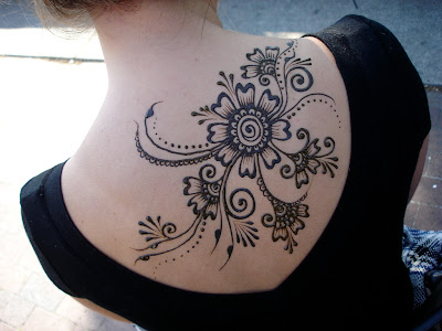 Pure Henna Ink Is Used For Henna Tattoos Beauty Tattoos