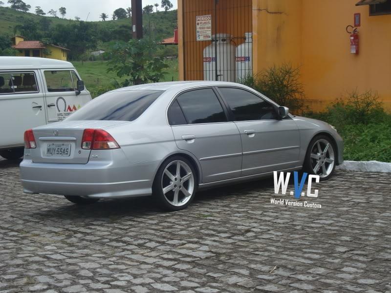 World Version Custom Civic Rodas Aro 18 Quot