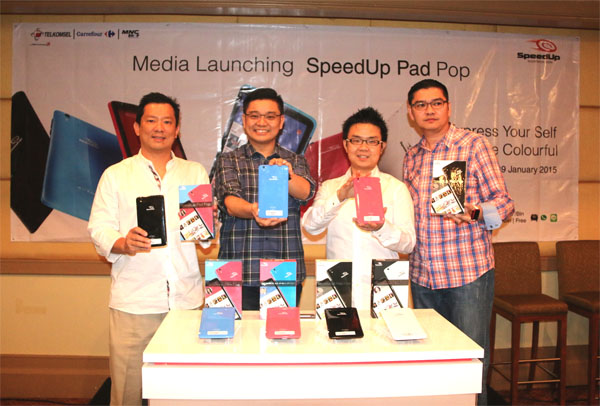 SpeedUp Pad Pop Resmi Diluncurkan Harga Rp1,3 Juta