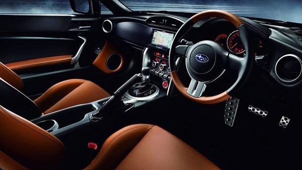 2016 Subaru BRZ Interior