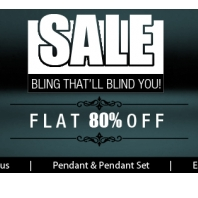 Buy Jewellery at Flat 80% off :Buytoearn