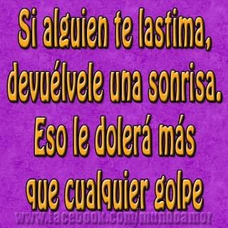 Imagen Si Alguien Te Lastima (Imagenes para Facebook)
