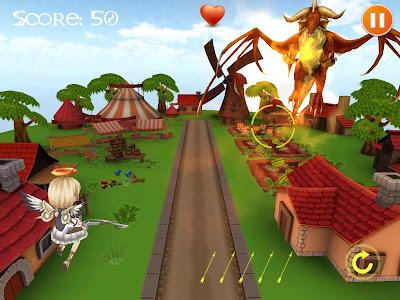 Download direct link Angel Town - Dragon Defender v1.0 Apk .