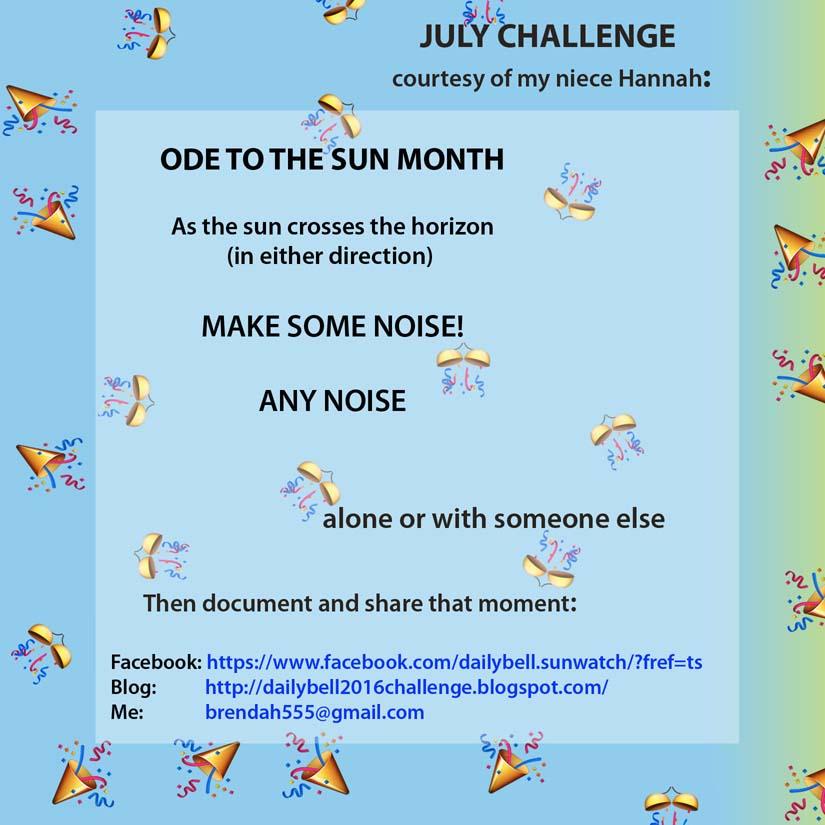 JULY Challenge 2016
