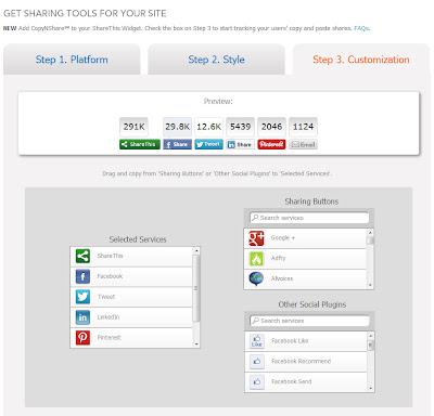 социальные кнопки sharethis