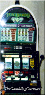 $6K Jackpot on Triple Diamond Slot
