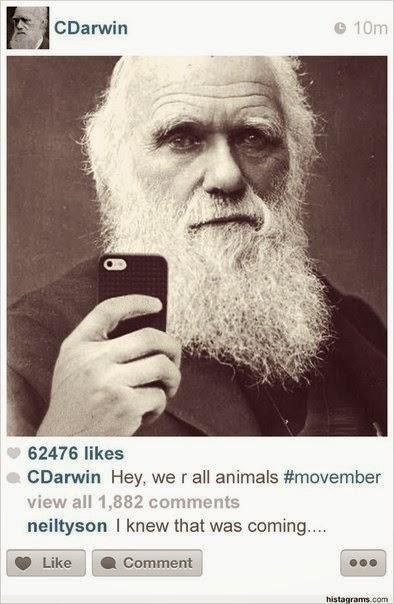 Дарвин в инстаграм
