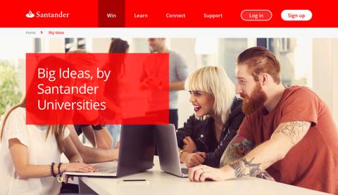 Big Ideas par Santander Universities