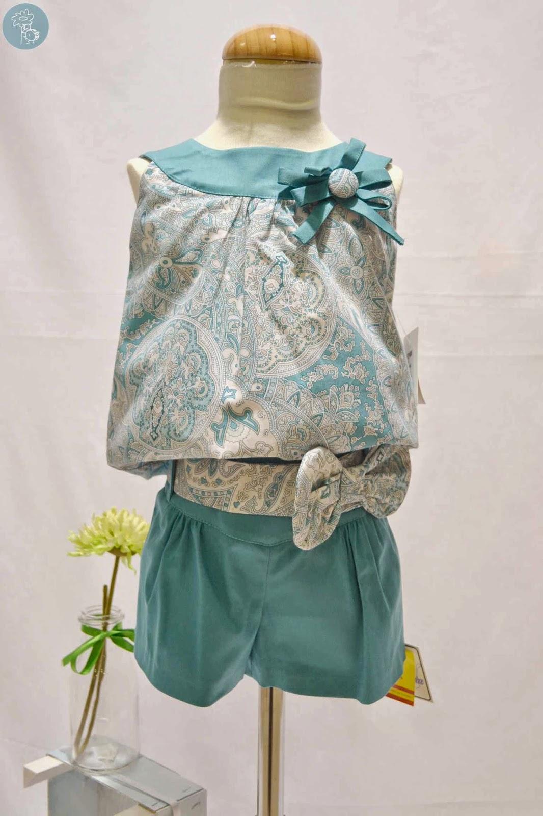 Conjunto dos piezas niña Nekenia en tienda Retamal moda infantil