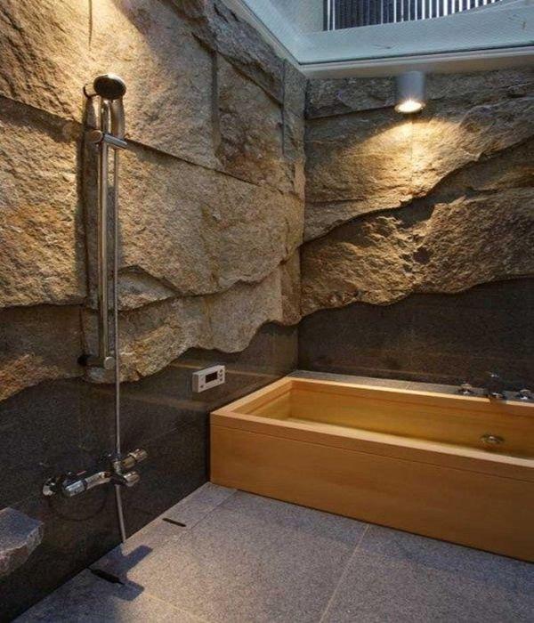 Ba o en piedra colores en casa - Banos con piedra natural ...